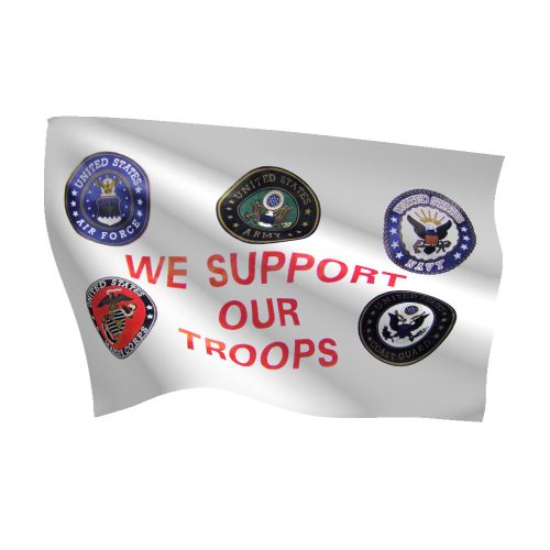 Support and Remembrance Flags