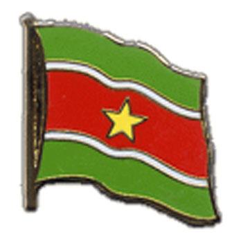 Suriname Flag Lapel Pin