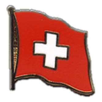 Switzerland Flag Lapel Pin