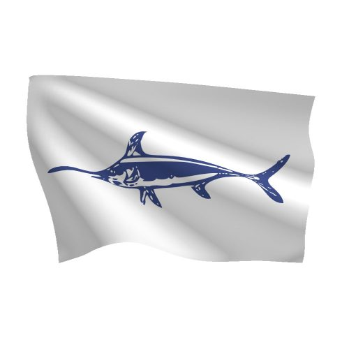12in x 18in Swordfish Flag
