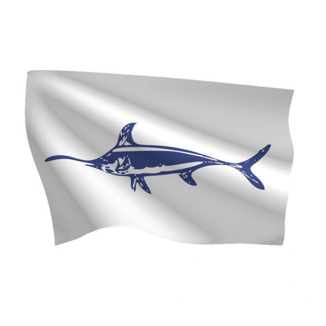 12in x 18in Swordfish Flag