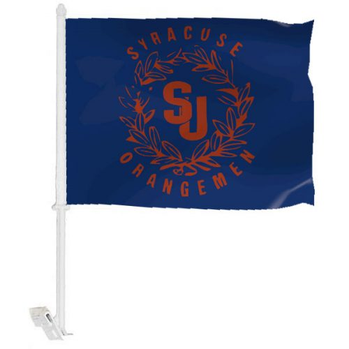 Syracuse University Car Window Flag
