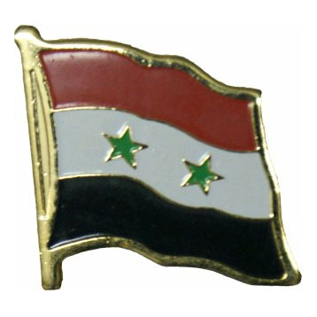 Syria Flag Lapel Pin