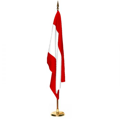 Indoor Tahiti Ceremonial Flag Set