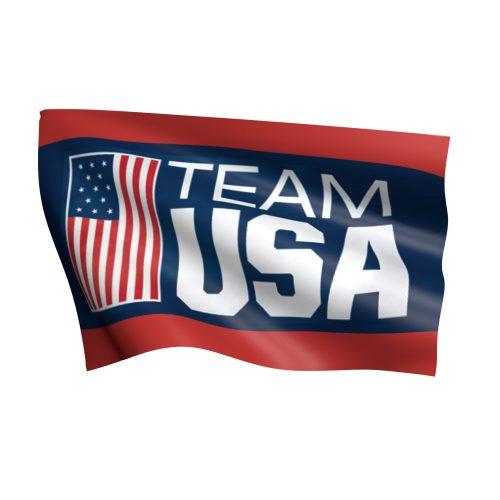 Team USA Olympic Flag