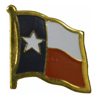 Texas Flag Lapel Pin