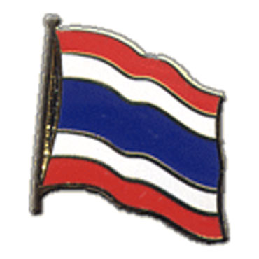 Thailand Flag Lapel Pin