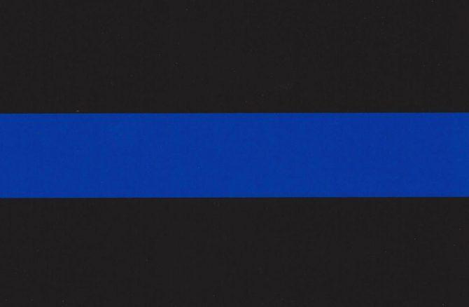 Police Memorial Sticker