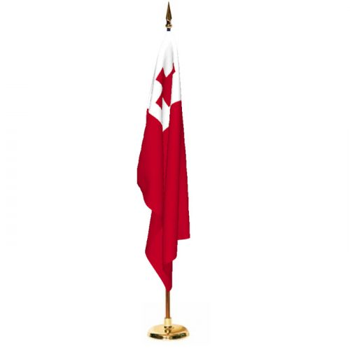 Indoor Tonga Ceremonial Flag Set