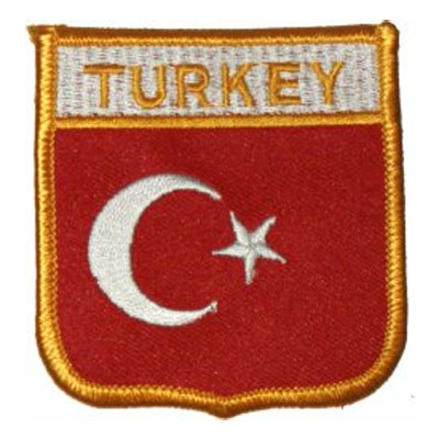 Flag of Turkey Patch