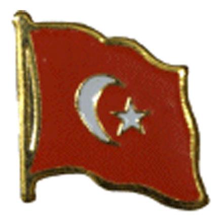 Turkey Flag Lapel Pin