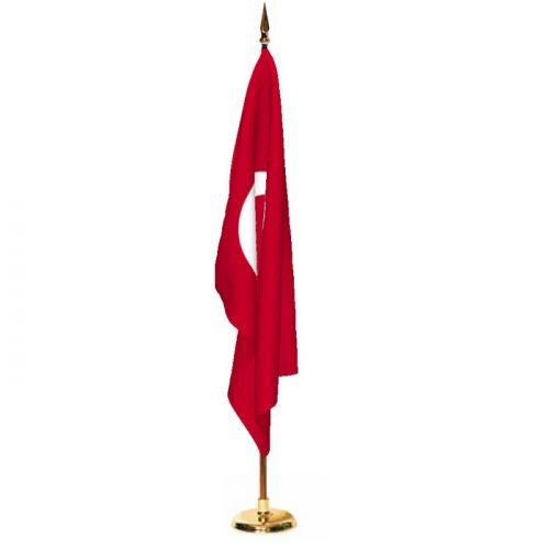 Indoor Turkey Ceremonial Flag Set