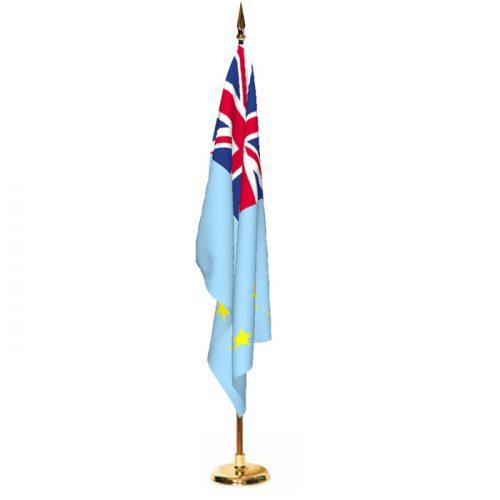 Indoor Tuvalu Ceremonial Flag Set