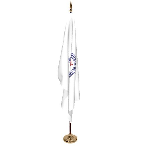 Indoor United Church of Christ Ceremonial Flag Set