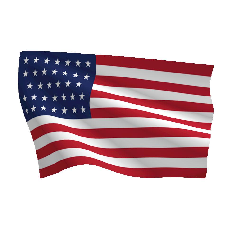 3ft X 5ft Union Civil War 34 Star Flag Flags International