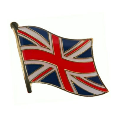 United Kingdom Flag Lapel Pin