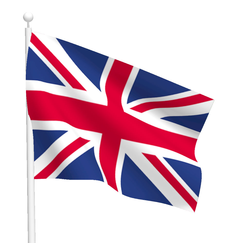 United Kingdom Flag Heavy Duty Nylon Flag