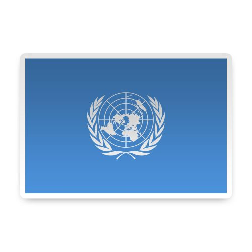 United Nations Sticker
