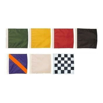 24in x 30in Racing Flags Set with Heading and Grommets