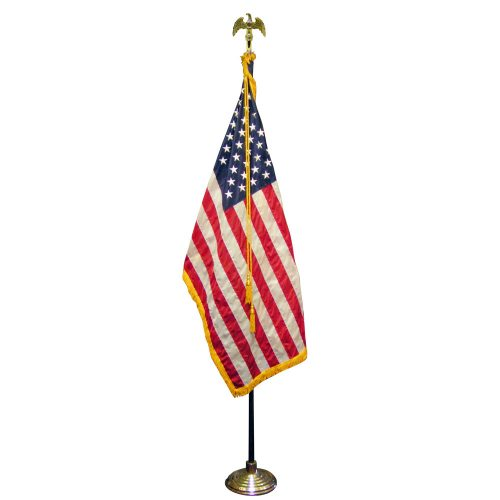 3ft x 5ft American Ceremonial Flag Set