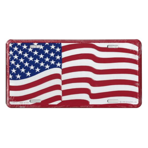 American License Plate
