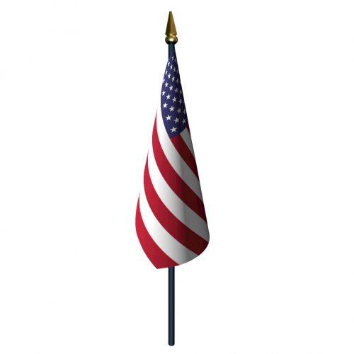 4in x 6in Plastic Handheld American Flag