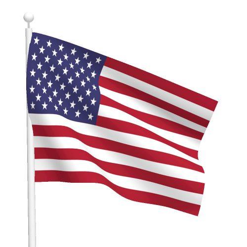 Sewn Nylon American Flag