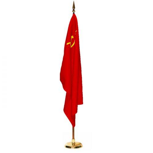 Indoor USSR (1955-1991) Ceremonial Flag Set