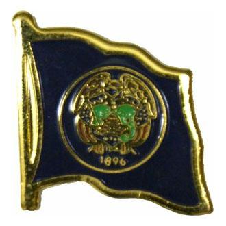 Utah Flag Lapel Pin