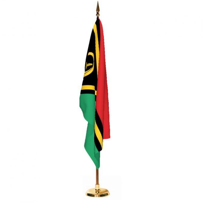 Indoor Vanuatu Ceremonial Flag Set