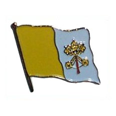 Vatican City Flag Lapel Pin