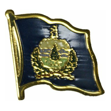 Vermont Flag Lapel Pin