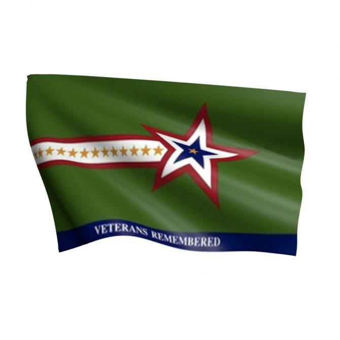 Veterans Remembered Flag