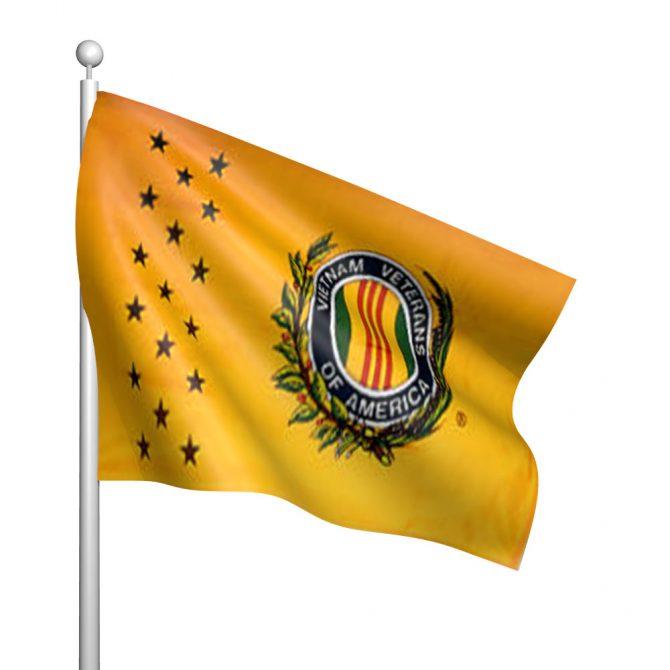 3ft x 5ft Vietnam Veterans of America Flag