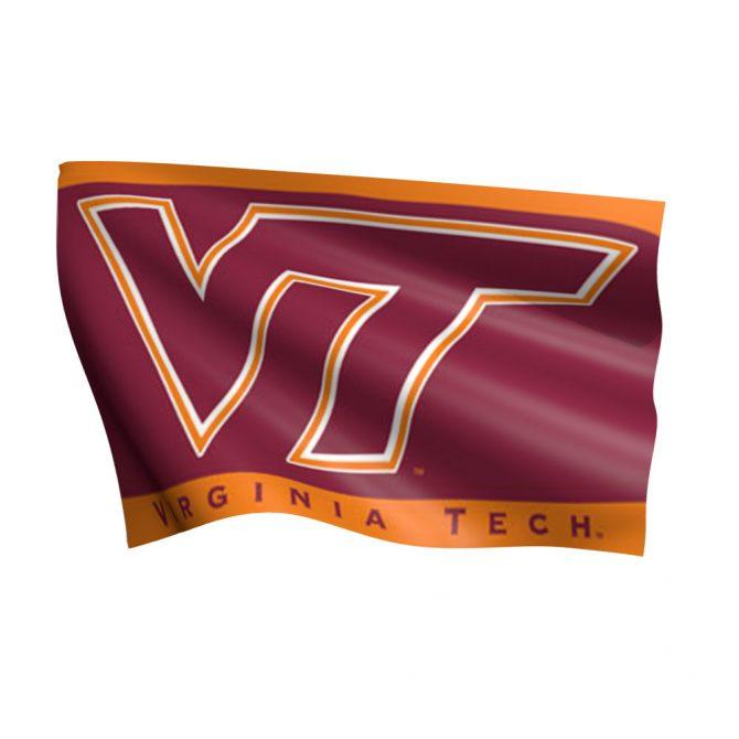 Virginia Tech University Flag (Orange)