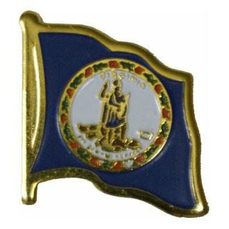 Virginia Flag Lapel Pin