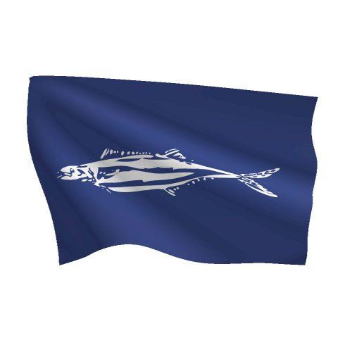 12in x 18in Wahoo Flag