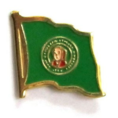 Washington Flag Lapel Pin