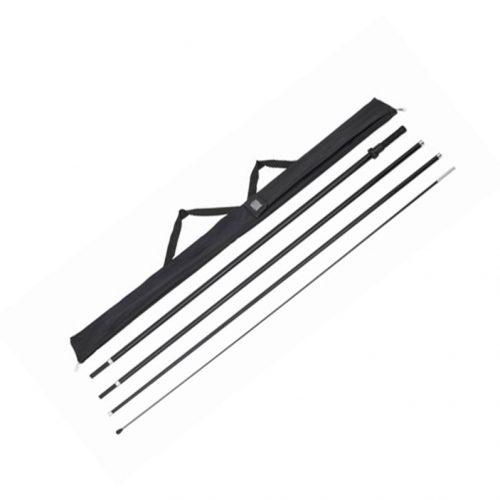Wave & Teardrop 16' Rotating Pole