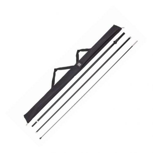 Wave & Teardrop 12' Rotating Pole