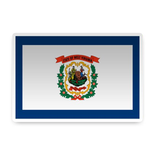 West Virginia Sticker