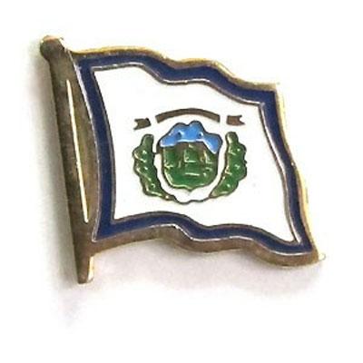 West Virginia Flag Lapel Pin