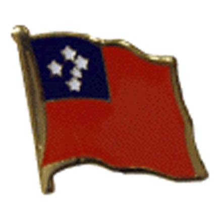 Western Samoa Flag Lapel Pin