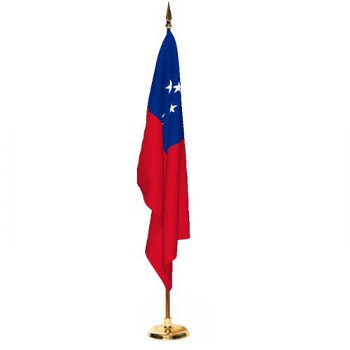 Indoor Western Samoa Ceremonial Flag Set