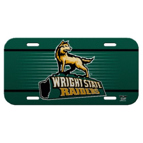 Wright State University License Plate