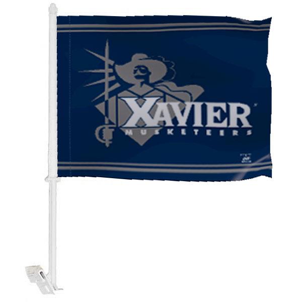 Xavier University Car Window Flag