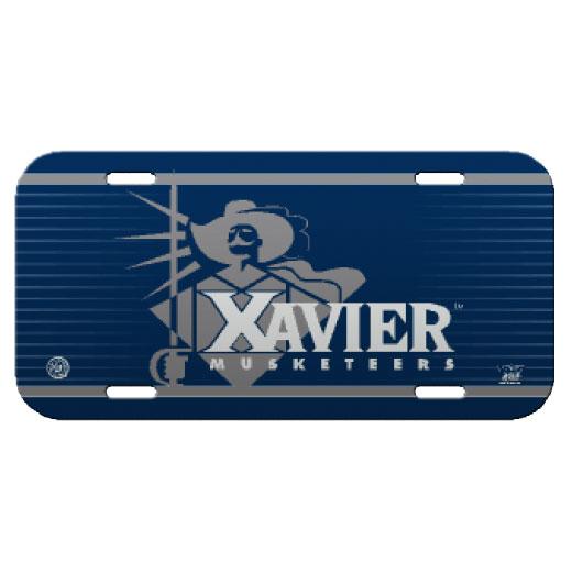 Xavier University License Plate