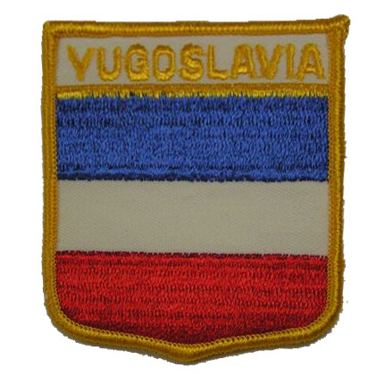 Flag of Old Yugoslavia Patch