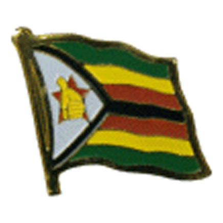 Zimbabwe Flag Lapel Pin