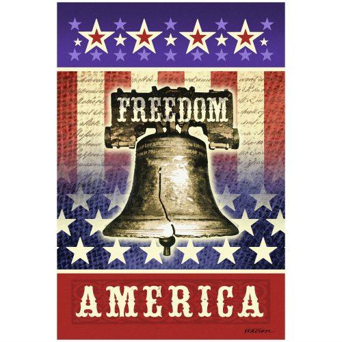 Freedom America Garden Flag